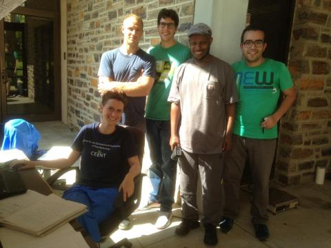 SCWO team June 2016: from left to right Florencia, Andy, Jose, Kura, Sherif